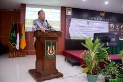 Sambutan Wakil Rektor Bidang Kemahasiswaan (Dr. Drs. Zainul Djumadin, M.Si)