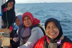 Penelitian Bioprospeksi Dosen dan Mahasiswa Fakultas Biologi di Pulau Seribu (6)