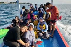 Penelitian Bioprospeksi Dosen dan Mahasiswa Fakultas Biologi di Pulau Seribu (11)