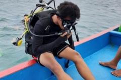 Penelitian Bioprospeksi Dosen dan Mahasiswa Fakultas Biologi di Pulau Seribu (13)
