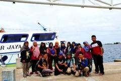 Penelitian Bioprospeksi Dosen dan Mahasiswa Fakultas Biologi di Pulau Seribu (4)