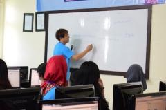 Pelatihan ICT di lab Jarkom