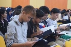 Peserta Kuliah Umum Sastra Jepan bekerjasama dengan Pusat Kajian Jepang