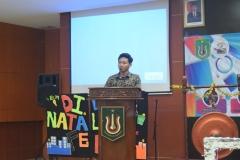 Sambutan oleh ketua pelaksana Aji Pandu Widayat