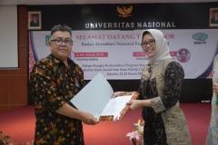 asesor dan ketua program studi sosiologi