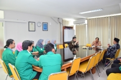 wawancara mahasiswa saat akreditasi sosiologi