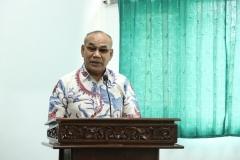 Rektor Universitas Nasional Dr. Drs. El Amry Bermawi Putera M.A