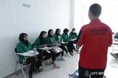 Pemberian materi tentang bantuan hidup dasar kepada mahasiswa keperawatan