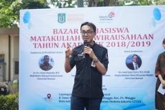 Deputy General Manager Witel Jakarta Selatan PT Telkom Indonesia Tbk Bambang Sunaryadi