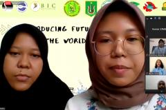 orang tua beserta mahasiswa yang hadir dalam Kuliah Umum Introducing Future Scientists to the World of Biology Pada Sabtu, 23 Januari 2021