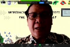 Ketua Program Studi Biologi Drs. Gautama Wisnubudi, M.Si.
