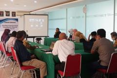Kegiatan BPM-UNAS dalam pembahasan dan workshop Sinkronisasi Sistem Monev Pembelajaran Terkait Permendikbud No. 5 Tahun 2020 pada hari Jumat, 18 Juni 2021