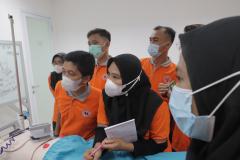 Para peserta saat mengikuti kegiatan pelatihan