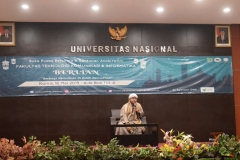 ceramah dari Habib dalam buka bersama FTKI di Aula UNAS (3)