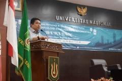 sambutan dari Wakil Rektor Bidang Akademik, Prof. Dr. Iskandar Fitri, S.T., M.T. (2)