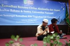 Pembacaan surat Al-Qur'an oleh mahasiswa