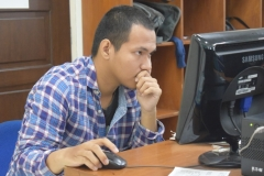 CAMABA Ikuti Ujian Tes Masuk UNAS (3)
