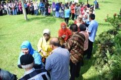 Halal bi halal Universitas Nasional (2)