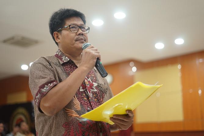 Ketua Program StudiHukum Masidin, S.H., M.H.