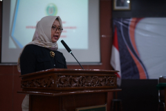 Sambutan Kepala BPM Unas,Dr. Erna Ermawati Chotim, M.Si.