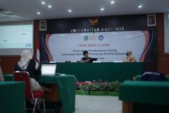 Penyampaian materi oleh Tim SPADA Dikti, Agus Sumantri yang dipandu oleh Moderator