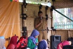 Sambutan oleh perangkat desa