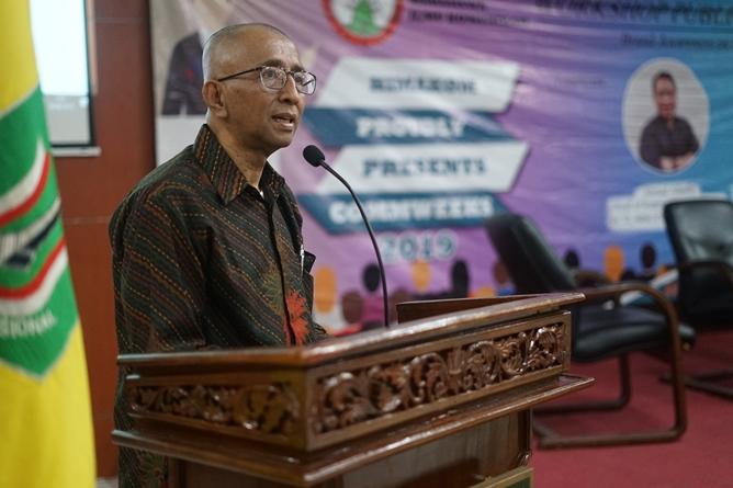 Dosen Ilmu Komunikasi Universitas Nasional Asep Rahmat Iskandar, S.H., M.H.