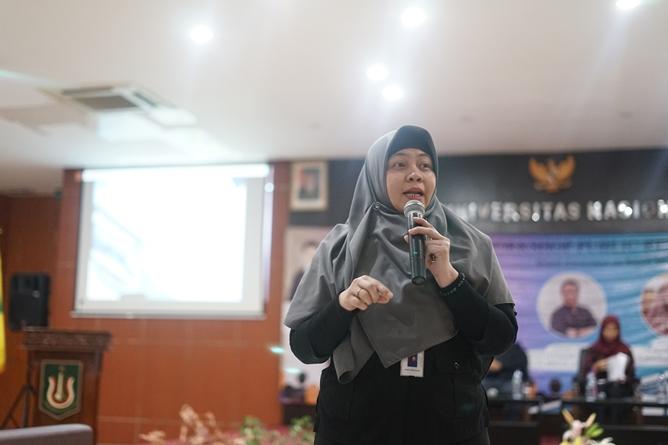 Wakil Kabid Publikasi dan Komunikasi BPP Perhumas Henny Puspitasari