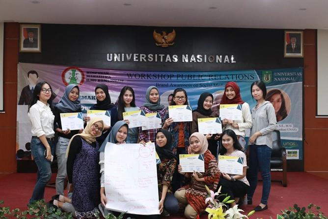 """Peserta Workshop Public Relations """"Brand Awarness on Social Media"""""""