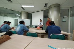 Pelatihan Certification Scheme of Welding Inspection Program (CSWIP) 3.0 di gedung menara II Unas, Ragunan, Selasa 29 Oktober 2019