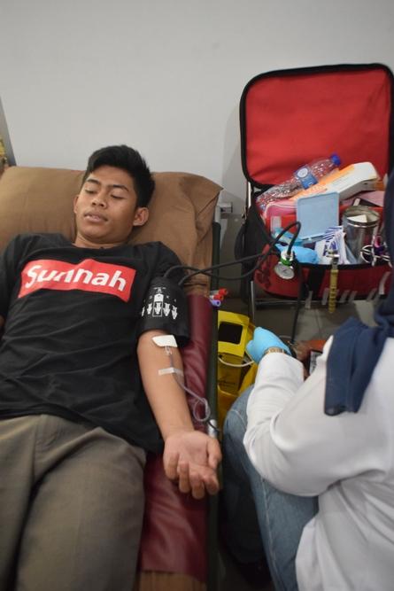 Dies Natalis UNAS ke 69, PPU Kembali Gelar Donor Darah (5)