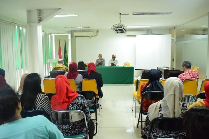 Suasana Seminar Diet Ketofatosis Mendengarkan Penjelasan Diet Ketofatosis