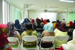 Suasana Seminar Diet Ketofatosis Mendengarkan Penjelasan Diet Ketofatosis2