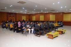 kemeriahan para peserta seminar dalam acara talkshow startup