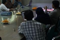 suasana diskusi bulanan PPI-MUI, di Ruang 108 Blok 1 UNAS, Jumat (03-5)