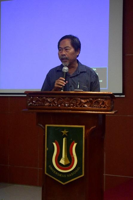 Sambutan Ketua Program Studi Ilmu Politik Drs. Hari Zamharir, M.Si