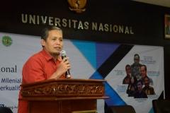 Sambutan Wakil Dekan FISIP Bidang Akademik Dr. Aris Munandar, M.Si