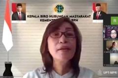 Kabiro Humas ATRN BPN, Yulia JN membuka diskusi online