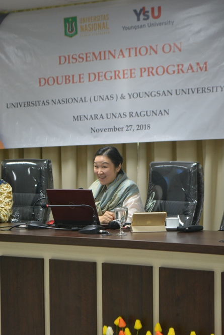 Dissemination On Double Degree Program UNAS & YOUNGSAN UNIVERSITY-KORSEL (6)