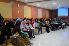 mahasiswa yang hadir dalam kegiatan ini