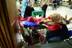 Saat donor darah berlangsung (5)