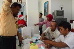 pendonor setelah melakukan donor darah