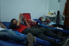 Situasi saat donor darah