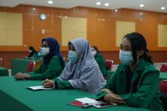 Para mahasiswa yang tergabung dalam Unas Entrepreneur Club
