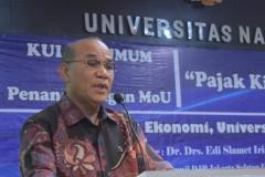 Fakultas Ekonomi Gelar Seminar pajak (1)