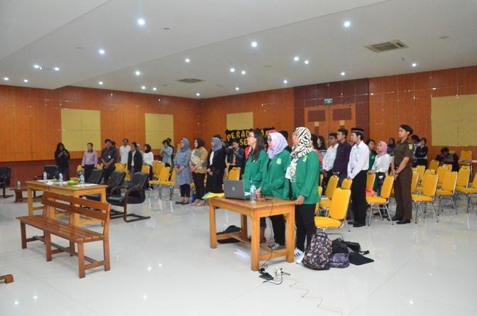 Fakultas Hukum Adakan Kompetisi Peradilan Semu Internal (1)