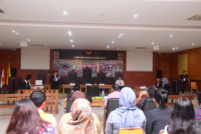 Fakultas Hukum Adakan Kompetisi Peradilan Semu Internal (10)
