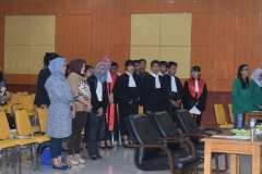 Fakultas Hukum Adakan Kompetisi Peradilan Semu Internal (5)