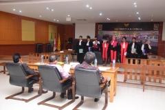 Fakultas Hukum Adakan Kompetisi Peradilan Semu Internal (8)