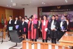 Fakultas Hukum Adakan Kompetisi Peradilan Semu Internal (6)